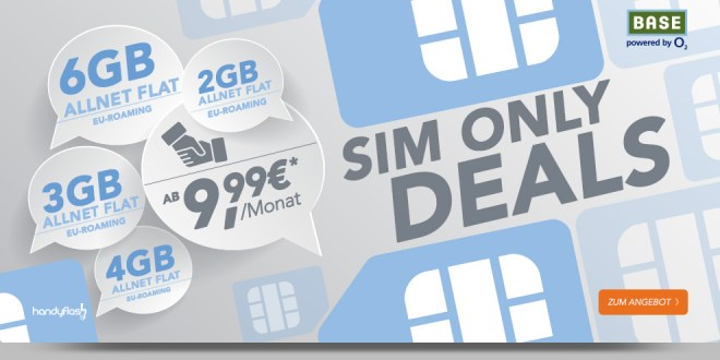 Blue All-in XL 6000 MB LTE Sim-Only 24,99€ mtl.