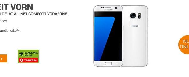Galaxy S7+ Allnet + 1GB + Vodafone nur 19,99€ mtl.