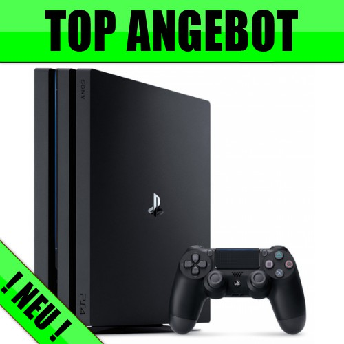 Sony PlayStation 4 Pro + Allnet Flat + 2GB nur 29,99€ mtl.
