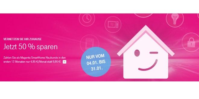 50 Sparen Beim Smarthome Dienst Der Telekom Handytariftipp