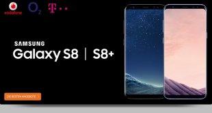 Galaxy S8 mit 6 GB LTE und Allnet im Telekom Netz nur 49,95€ mtl.