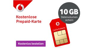 Prepaid Freikarte mit 10 GB LTE für nur 9,99€