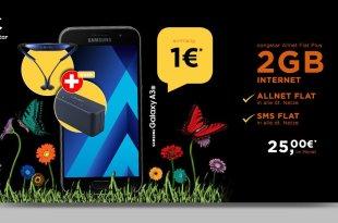 Galaxy A3 mit Level Box, Allnet Flat und 2GB von Congstar nur 25€ mtl.