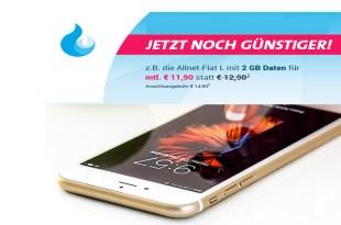 4GB mit Allnet Flat im Telekom Netz nur 15,90€ mtl.
