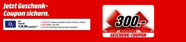 15GB LTE + Allnet + EU + 300€ Coupon nur 29,99€ mtl.
