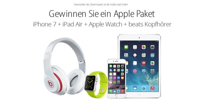 Gewinnspiele: iPhone 7, iPhone X und Galaxy S8