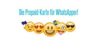 50% Rabatt bei der WhatsApp SIM