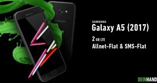 Galaxy A5 mit 2 GB LTE und Allnet nur 14,99€ mtl.