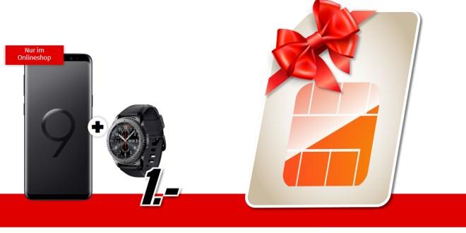 Galaxy S9 & Gear S3 Telekom Netz nur 19,99€ mtl.