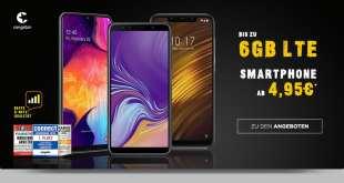 Huawei Mate20 lite + 3GB LTE im Telekom Netz nur 25€