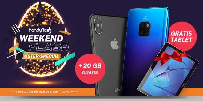iPhone X mit 30 GB LTE nur 49,99€