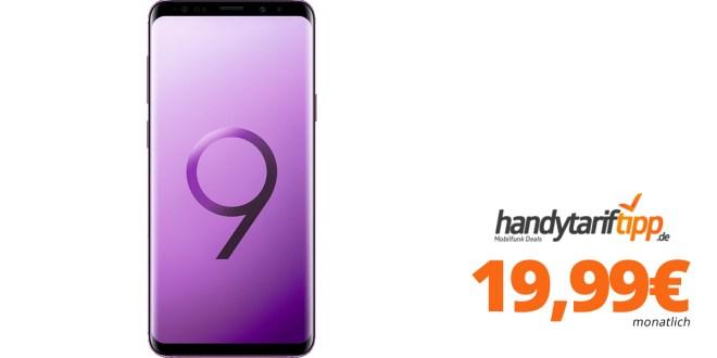 Galaxy S9+mit 3 GB LTE nur 19,99€