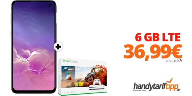 Galaxy S10 & Xbox mit 6 GB LTE nur 36,99€
