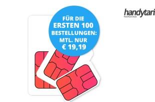 12 GB LTE Allnet Telekom Netz nur 19,19€