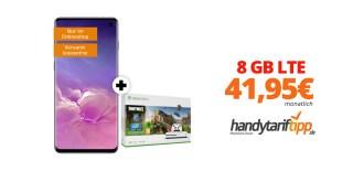 Galaxy S10 & Xbox mit 8 GB LTE Telekom Netz nur 41,95€