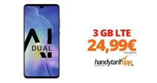 HUAWEI Mate20 mit 3 GB LTE nur 24,99€