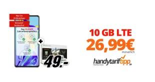 Huawei P30 & Xbox One S mit 10GB LTE nur 26,99€
