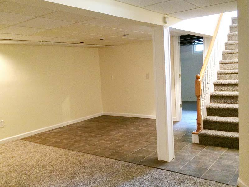 Finishing Basement Walls Exterior : Wallingford ct garage basement exterior renovation