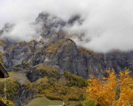 Gemmi pass in Autumn