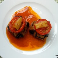 Izgara patlıcan kebabı