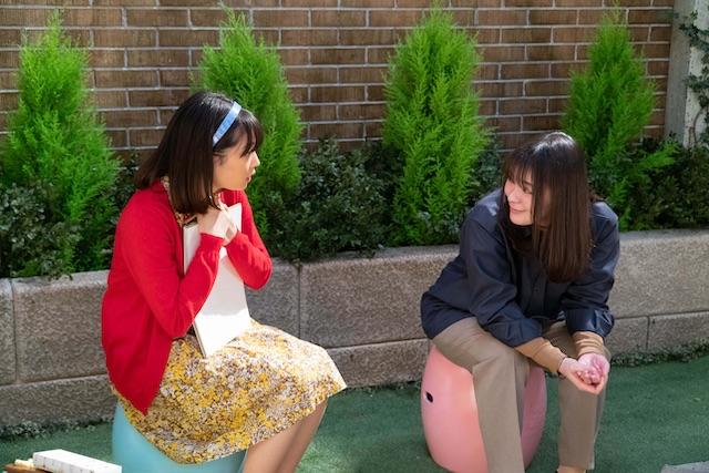 なつぞら なつ、麻子と話す
