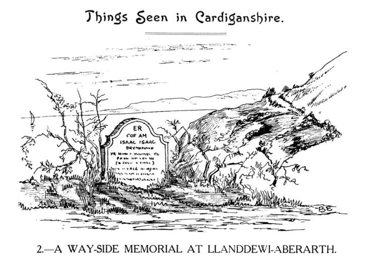 Pethau i'w Gweld yn Sir Aberteifi - Cofeb Ffordd Ymlaen yn Llanddewi-Aberarth