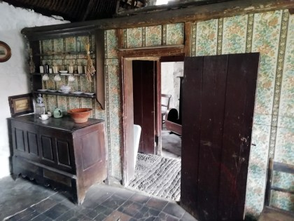 Llanon Museum Cottage - Period furniture of 1870's adorn the cottage