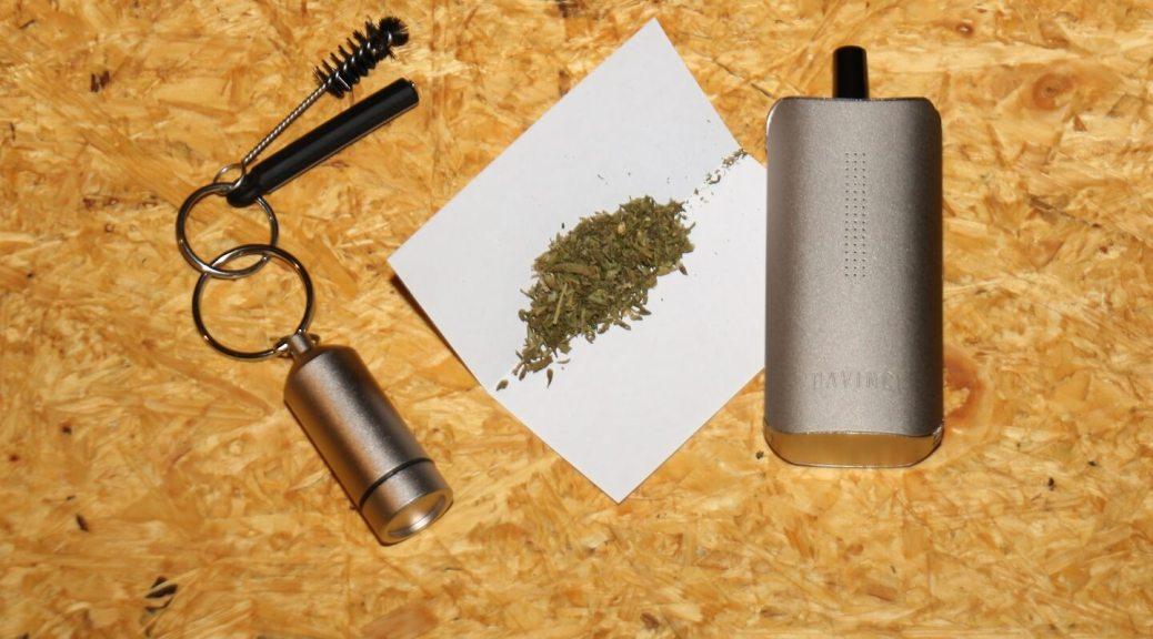 Beim Cannabiskonsum nicht rauchen, sondern für Saver Use vaporisieren!