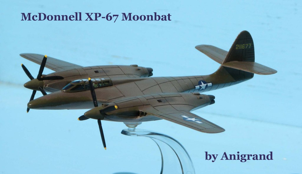McDonnell XP-67 Moonbat