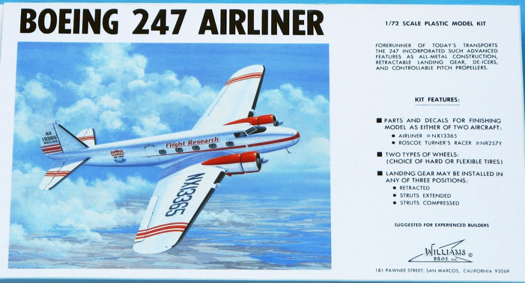 Boeing 247 by Williams Brothers