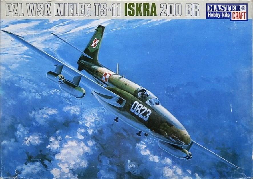 Polish Trainer Jet TS-11 Iskra Bis D Indian AF # Scale 1//72 # MISTERCRAFT C-19