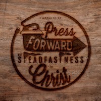 2016 Mutual Theme Logos: Press Forward with a Steadfastness in Christ
