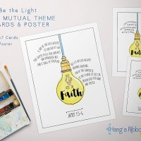 Be the Light: 2017 Mutual Theme Cards [Free Download]