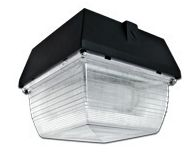 "Induction 8"" Square Garage Light"