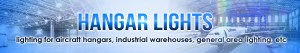 commercial lighting for aircraft hangars, industrial warehouses