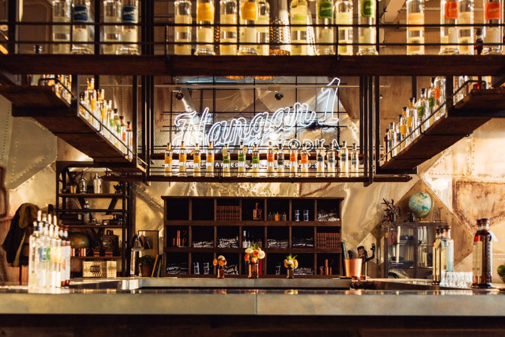 Hangar One   Fresh Picked Vodka Visit our hangar to learn the magic of distilling vodka and enjoy a Hangar  1 vodka tasting while taking in the views of San Francisco