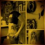 matrioska tattoo in progress
