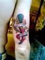 asso di bastoni tattoo
