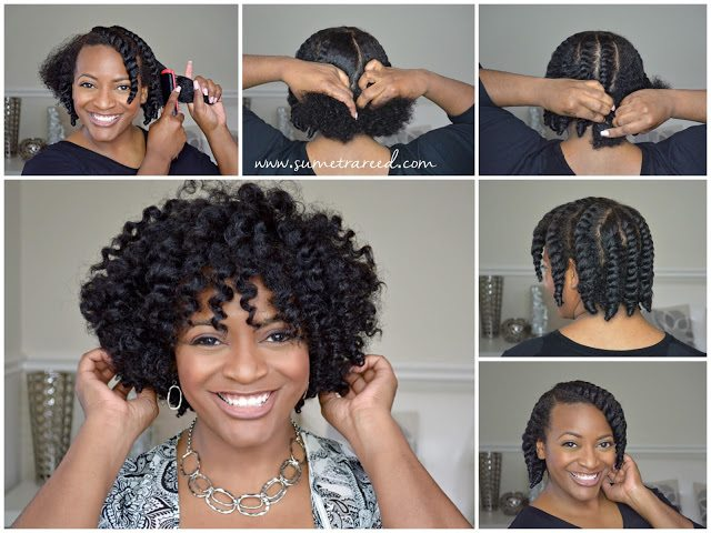 35 Quick and Easy Natural Hairstyles Tutorials