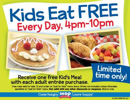 freebies-ihop