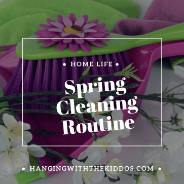 My 5 Day Spring cleaning Routine