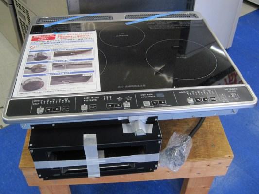 Ảnh bóc hộp bếp từ Hitachi HT-K6S