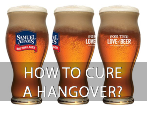 Image result for Beer helps hangover