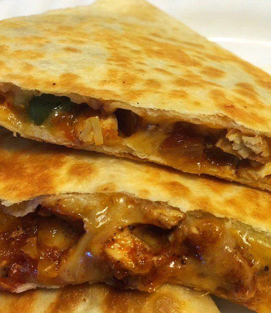 leftover-chicken-fajitas-quesadillas