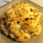 Roasted Cauliflower with Garlic