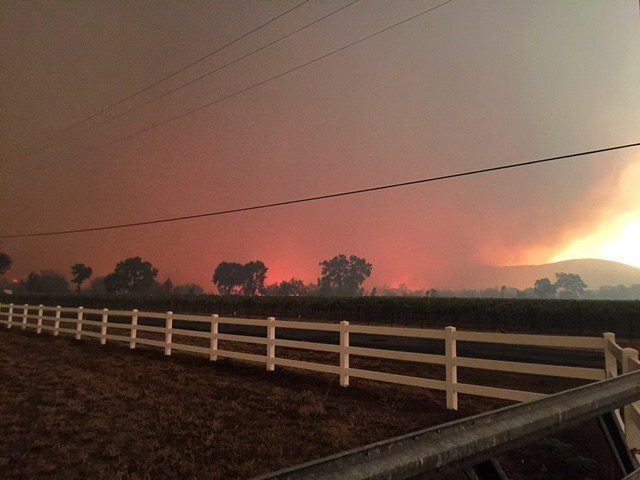 Valley Fire @ 6:00 pm