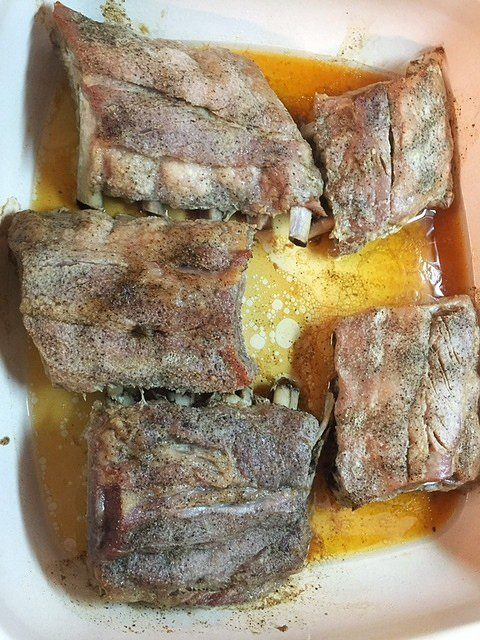 BBQ Ribs in Oven