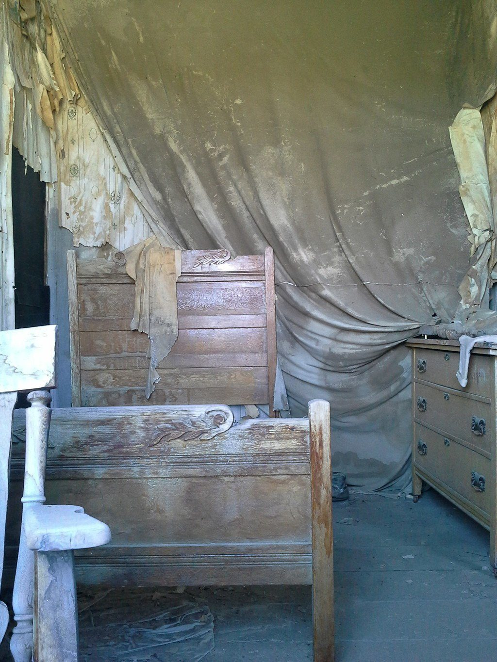 Bodie Ghost Town Bedroom