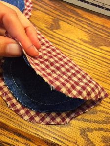 Denim Potholders Finger Covers