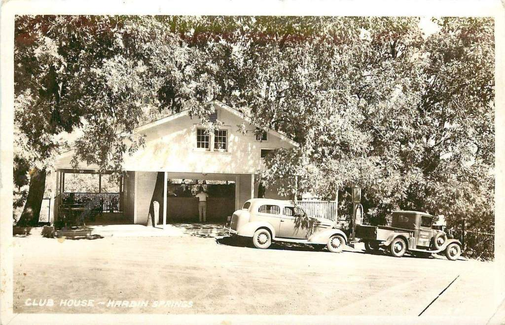 1940 Harbin Hot Springs Gas Station